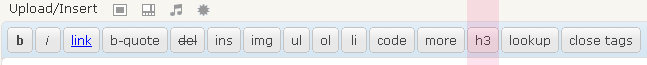 Post Editor Buttons Output